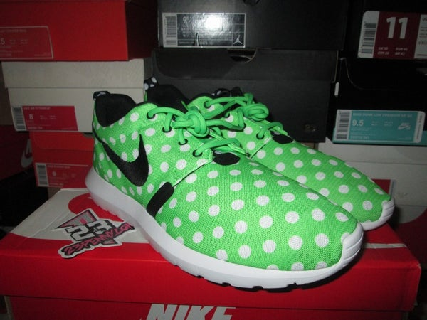 "Roshe Run NM QS ""Polka - Green Streak"" - FAMPRICE.COM by 23PENNY"