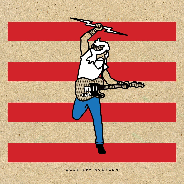 """Image of RRC #006: """"Zeus Springsteen"""""""