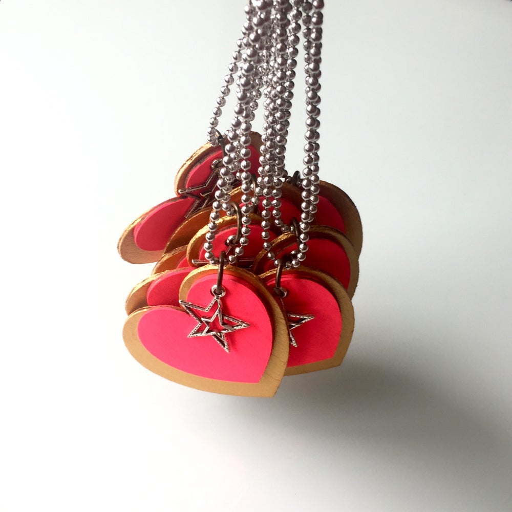 Image of KIDS : Hearts + Stars Necklace