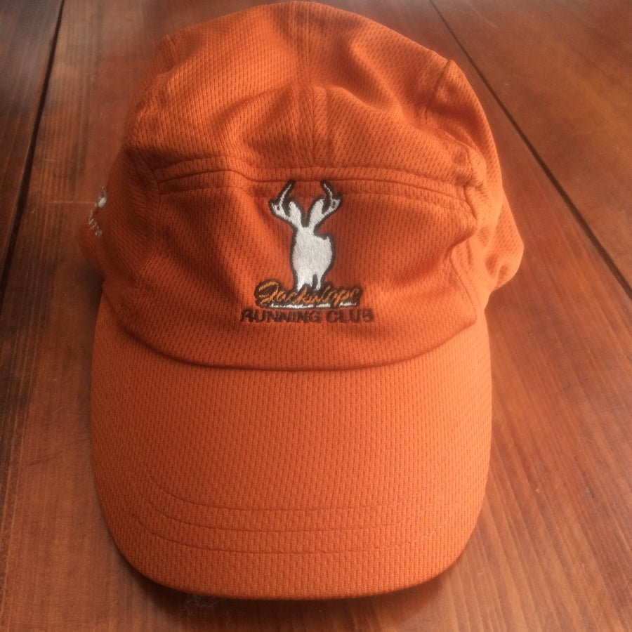 Image of Jackalope Orange Dry Fit Running Hat