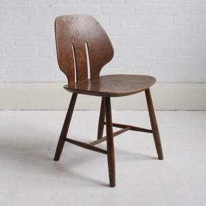 Image of Danish 50s chair by Ejvind A Johansson for FDB