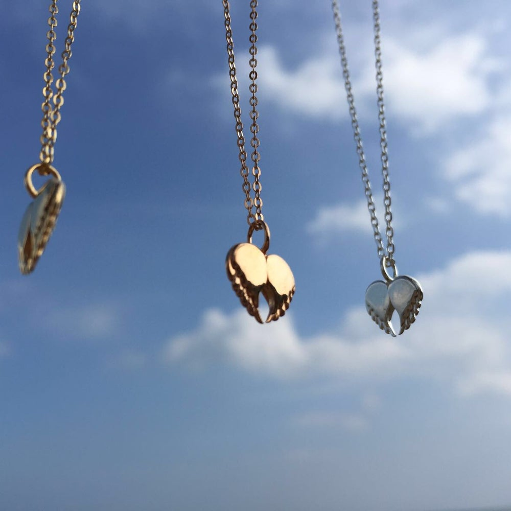 Image of Dainty Love Pendant - Gold