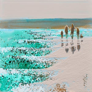 Image of Family time near Padstow, Cornwall