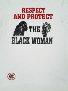 Image of Respect & Protect (White, Black, & Red)