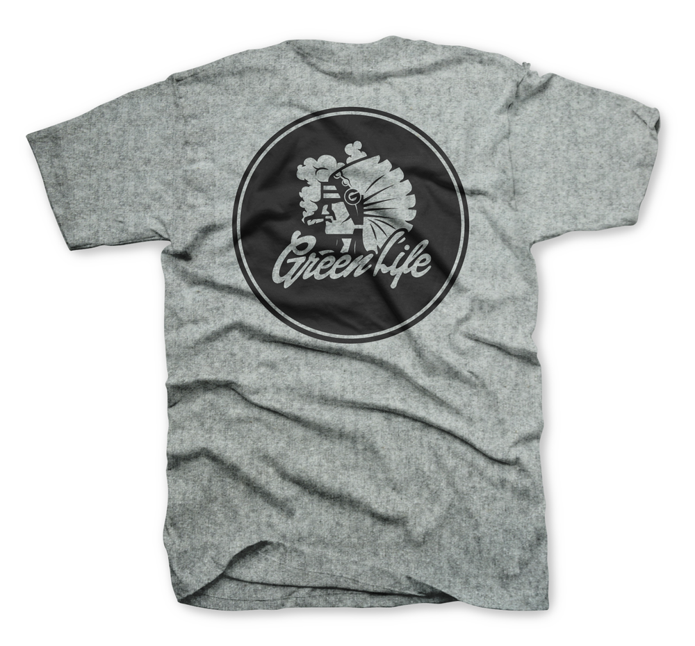 Image of The Chiefin' Tee in Heather Gray
