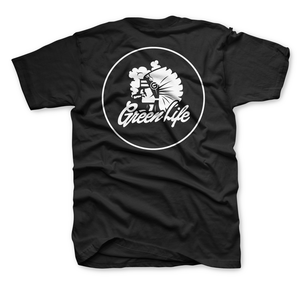 Image of The Chiefin' Tee in Black