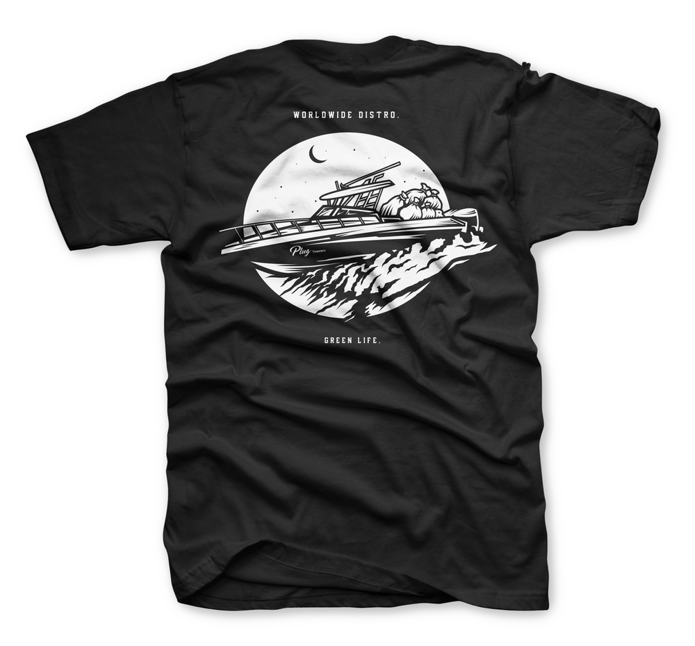 Image of The Transport Tee In Black