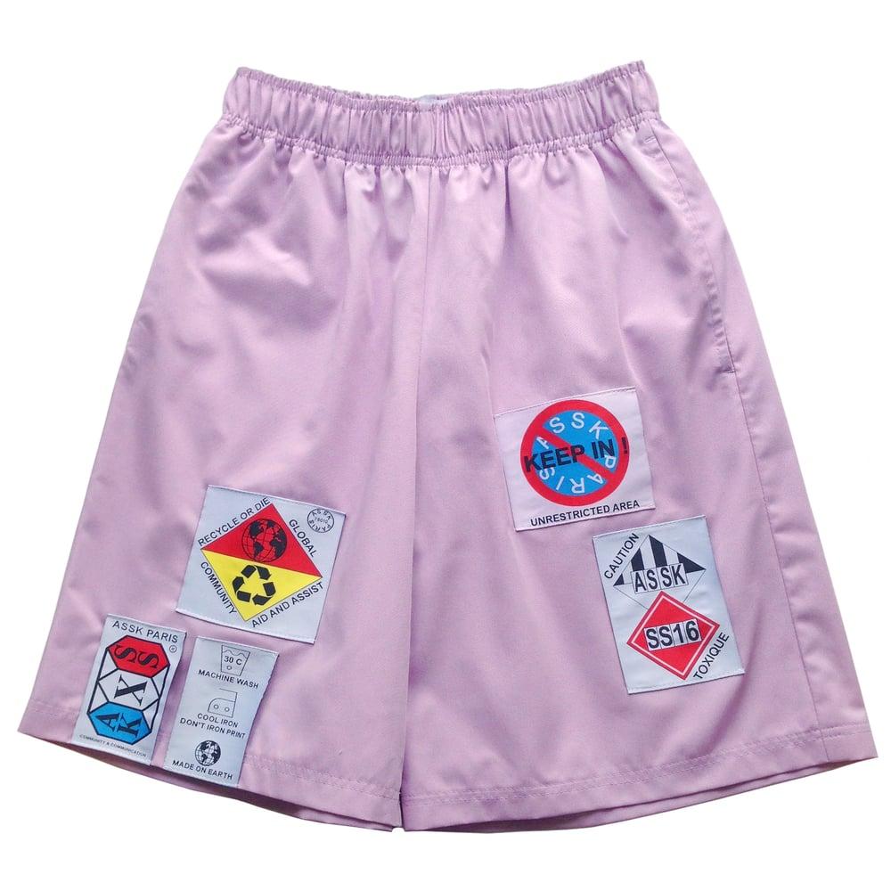 Image of HAZARD Shorts - Lavender
