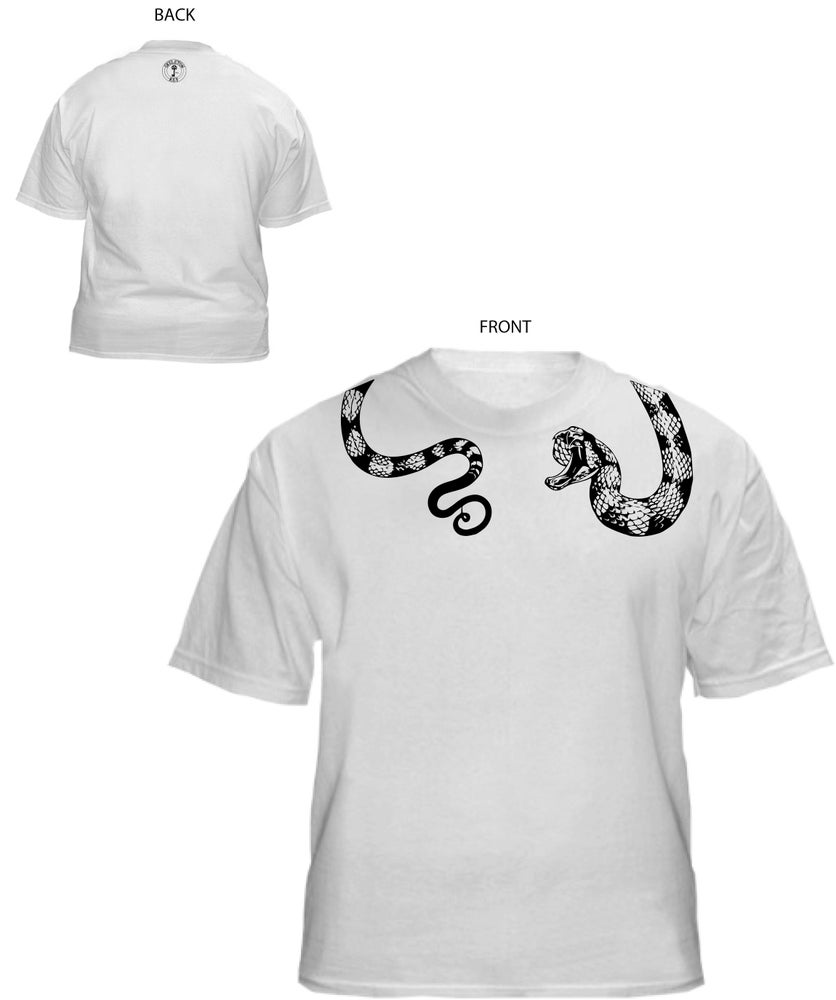 "Image of Matt Dove designed ""venomous"" t-shirt"