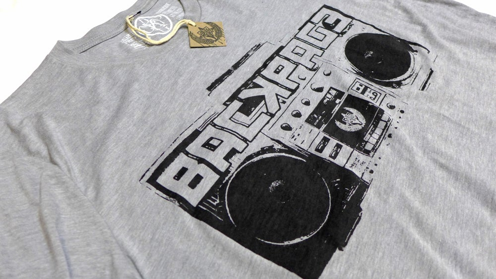 "Image of ""Boombox"" tee by Backpage Press"
