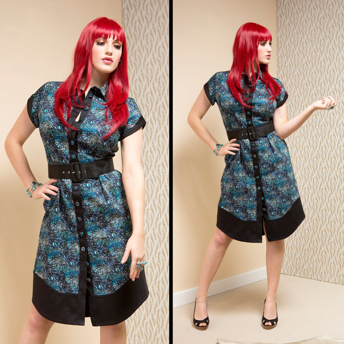 Image of DAKTARI SHIRT DRESS (other options available)