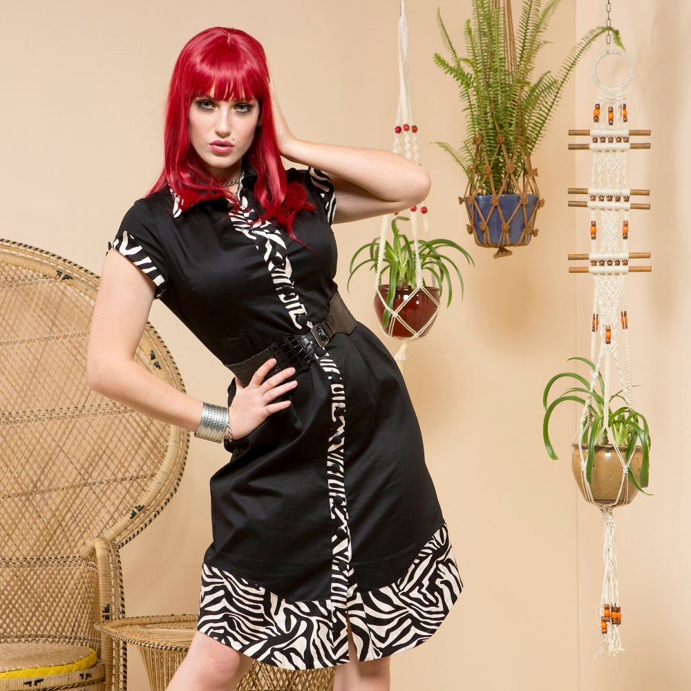 Image of DAKTARI SHIRT DRESS