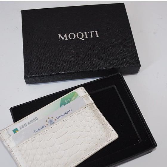 Image of White Python Cardholder