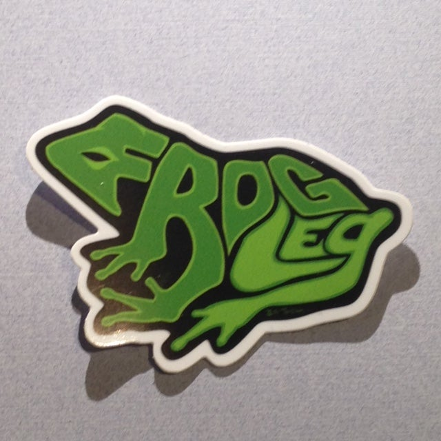Image of FrogLeg Sticker