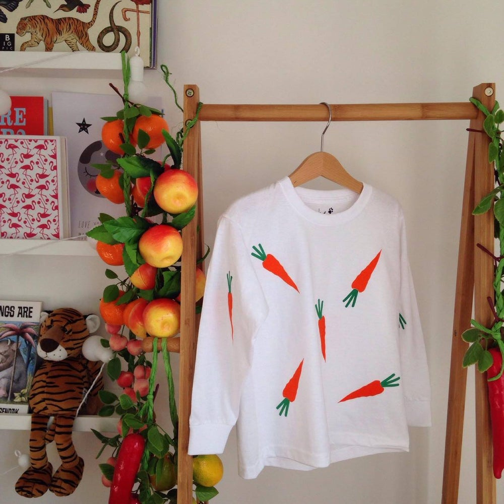 Image of rabbit food long sleeve top