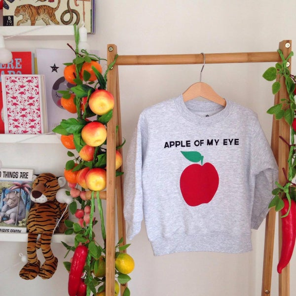 Image of apple of my eye sweatshirt