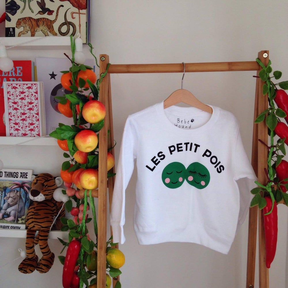 Image of les petit pois sweatshirt