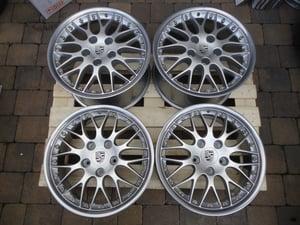 "Image of Genuine Porsche BBS Classic II 2-piece Split Rim 18"" 5x130 911 Alloy Wheels"