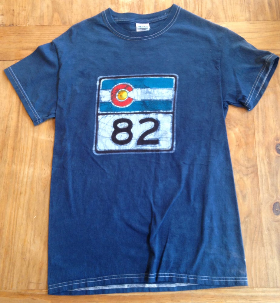 Image of Highway 82 Batik T-Shirt