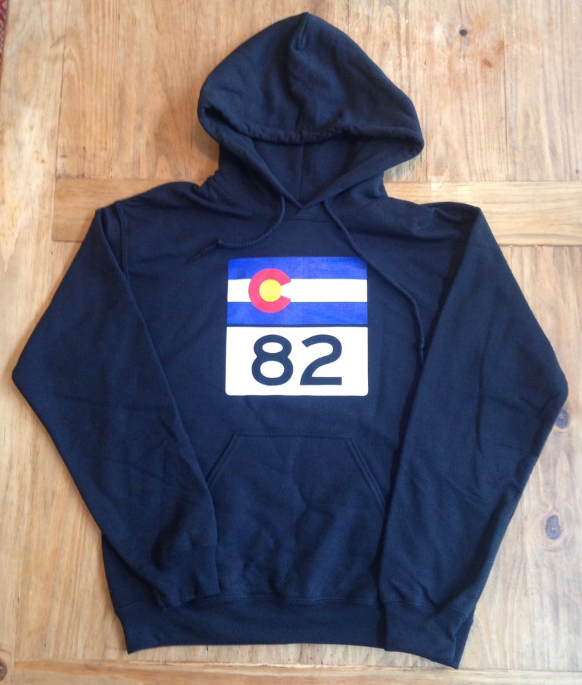 Image of Highway 82 Black Hoodie