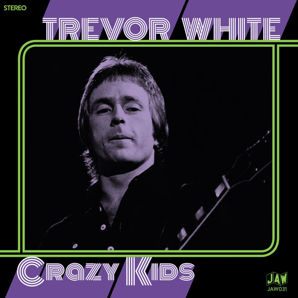 "Image of TREVOR WHITE ""Crazy Kids"" 7"" on black, green, purple, or white (JAW031)"