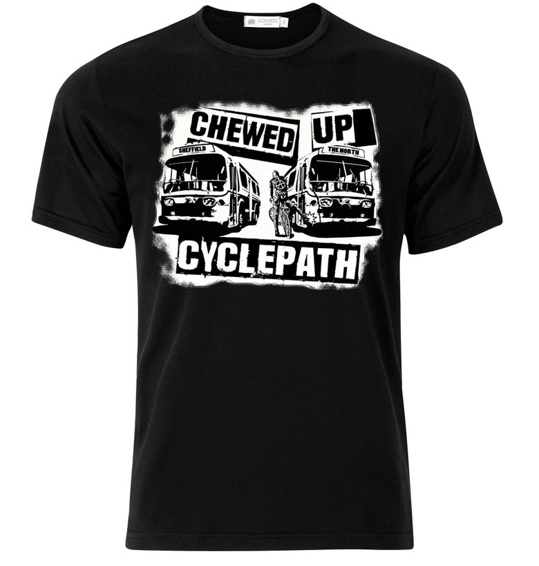 Image of Cyclepath T-Shirt (Black) ** NEW **