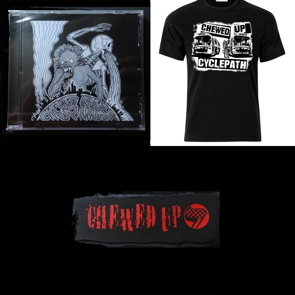 Image of Everything (T-Shirt/Split with Casual Nausea CD/Patch)