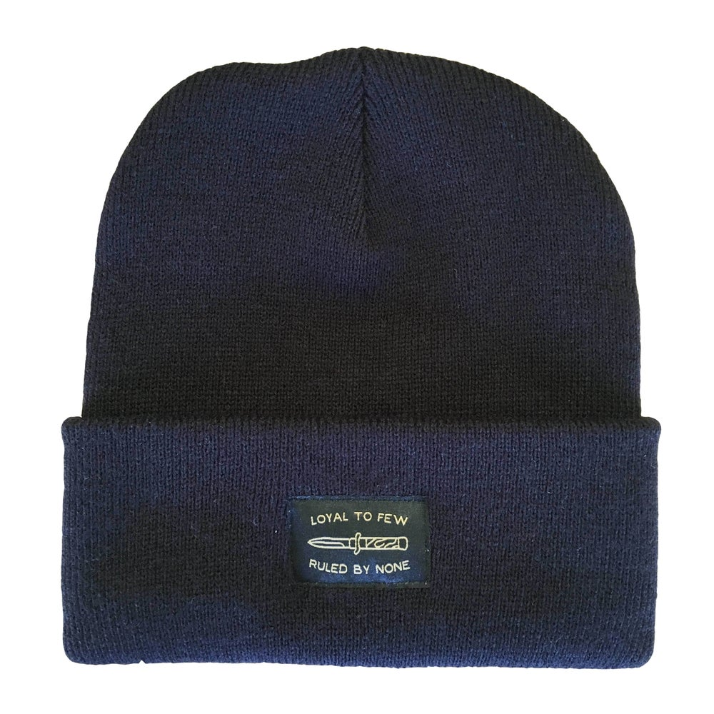 Image of LOYAL TO FEW BEANIE BLACK