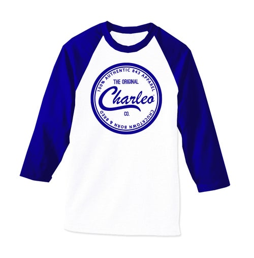 Image of The Original Charleo Seal Raglan (CLICK FOR MORE COLORS!!!)