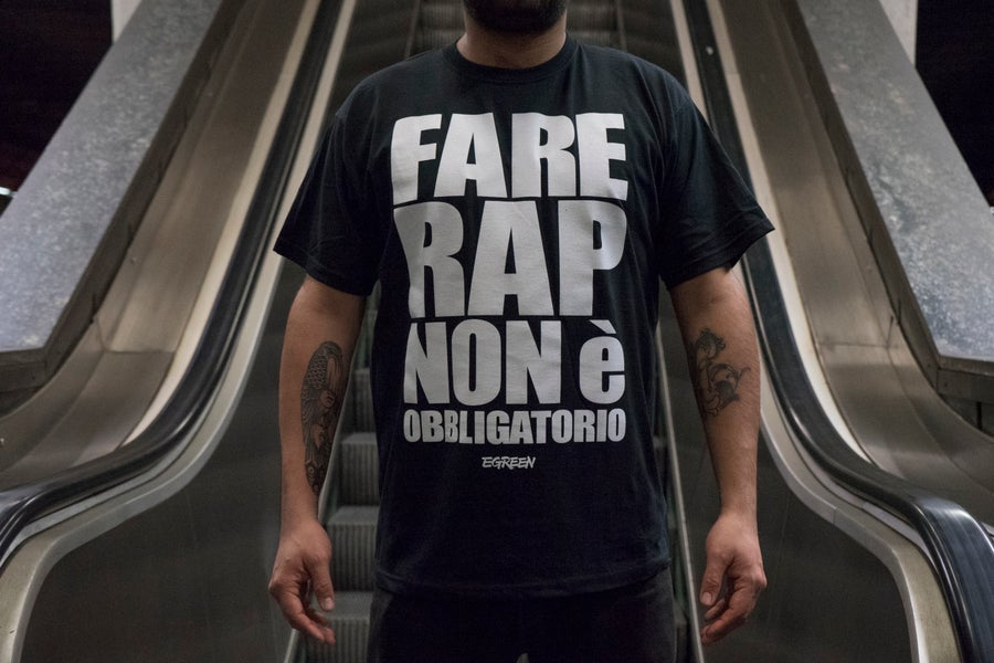 Image of FARE RAP NON è OBBLIGATORIO - TOUR TEE