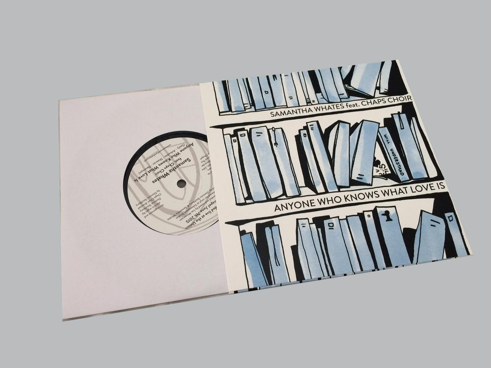 """Image of Samantha Whates & Chaps Choir  - 7"""" single (+download) 