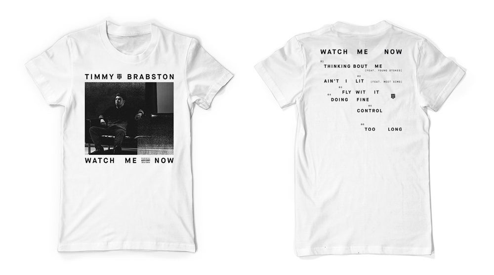 Image of Watch Me Now T-Shirt (White)