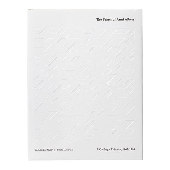 Image of The Prints of Anni Albers: A Catalogue Raisonné, 1963–1984