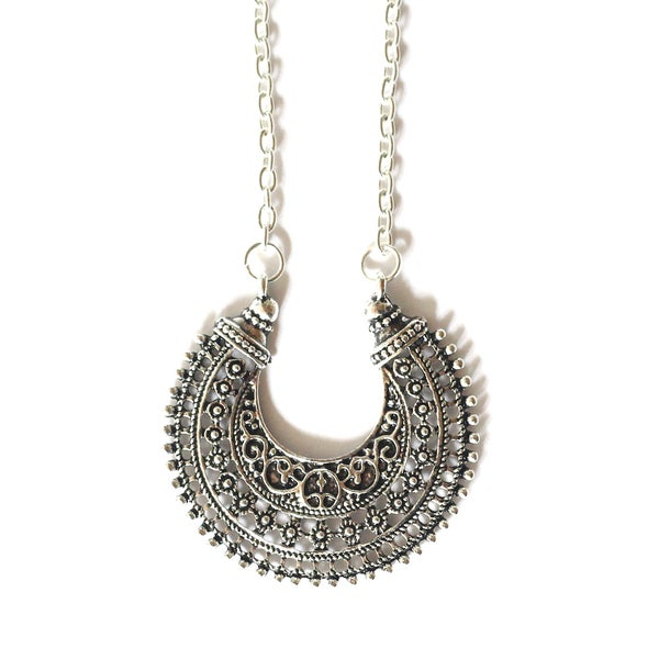Image of Bohemian Moon Necklace