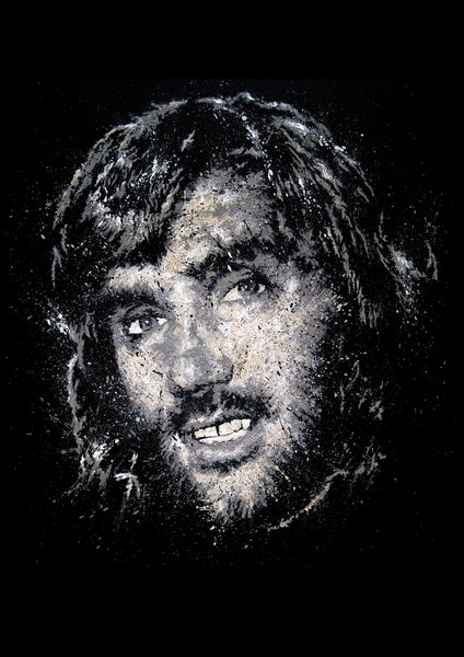 Image of GEORGE BEST (Limited Edition Print)