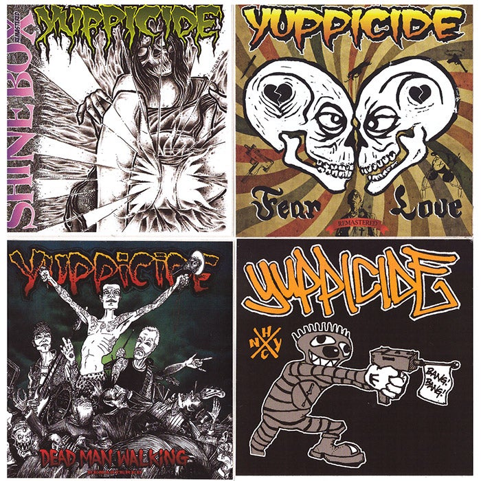 Image of Yuppicide Assorted Sticker Pack