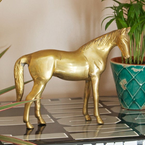 Image of Brass Horse