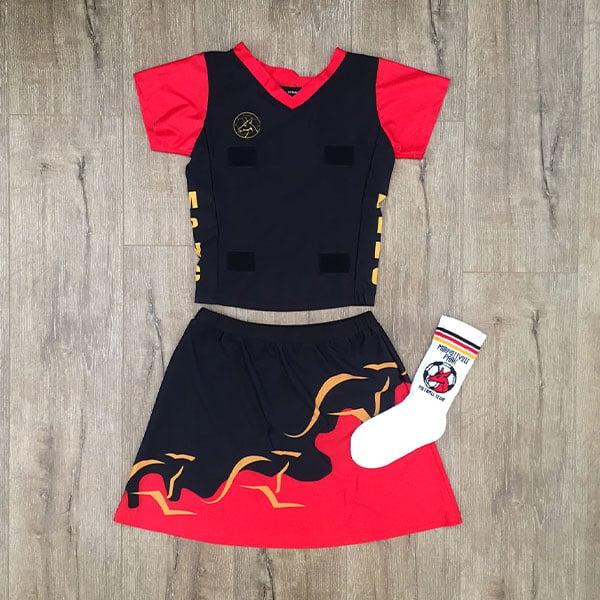 Image of Junior Netball Uniform - Full Set