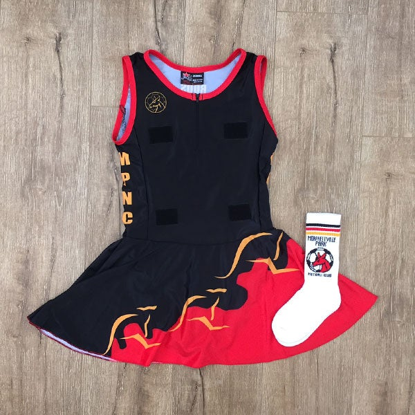 Image of Senior Netball Body Suit & Socks