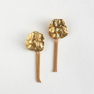 Image of Collection 1920's - BO coquelicot / Poppy earings