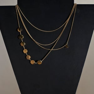 Image of Collection 1920's - Sautoir Eclipse / Necklace Eclipse