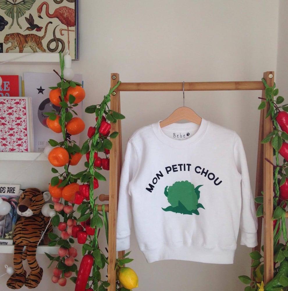 Image of mon petit chou sweatshirt