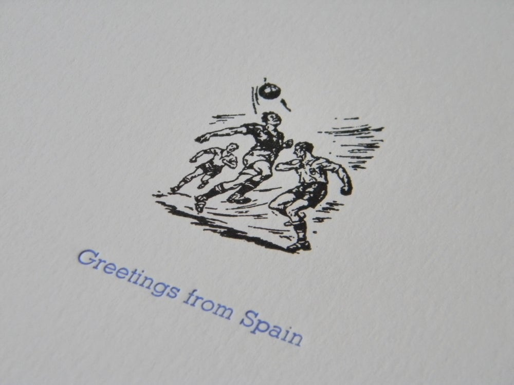 Image of Greetings from Spain
