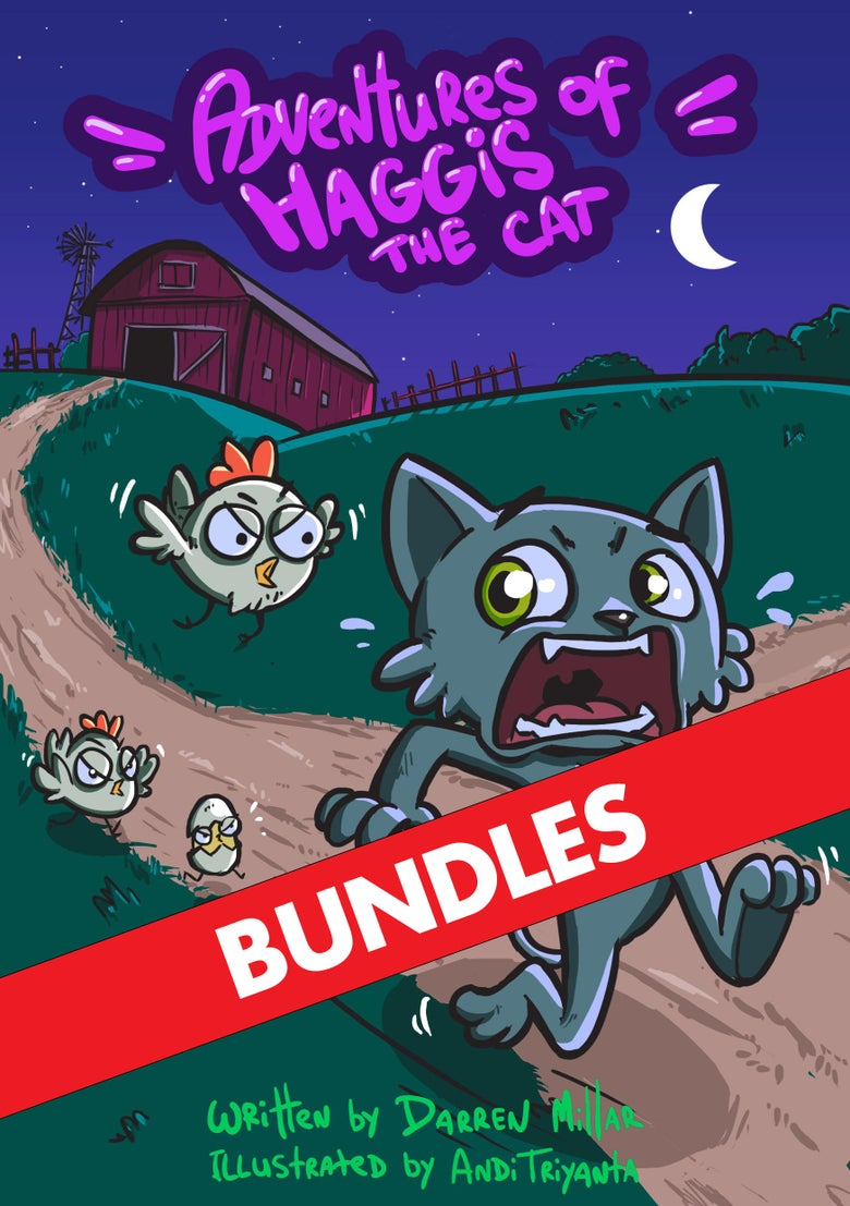 Image of Adventures of Haggis the Cat - Bundles