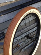 Image of Schwalbe Fat Frank - Brown w/Cream Wall 26 & 29 options