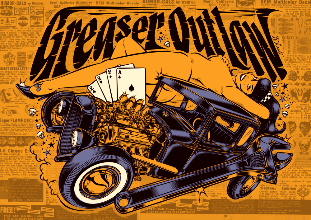 "Image of ""GREASER OUTLAW"""