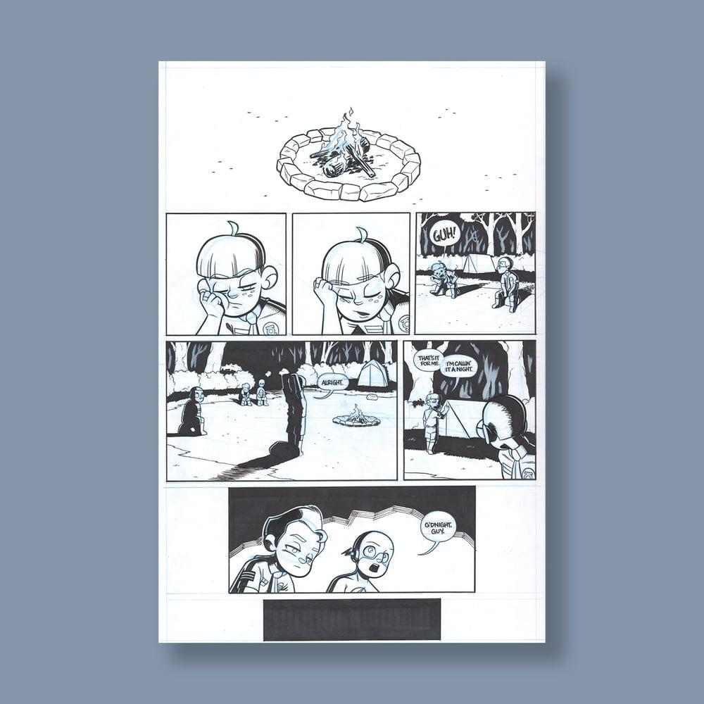 Image of *NEW* JL8 #192, p. 2 original art