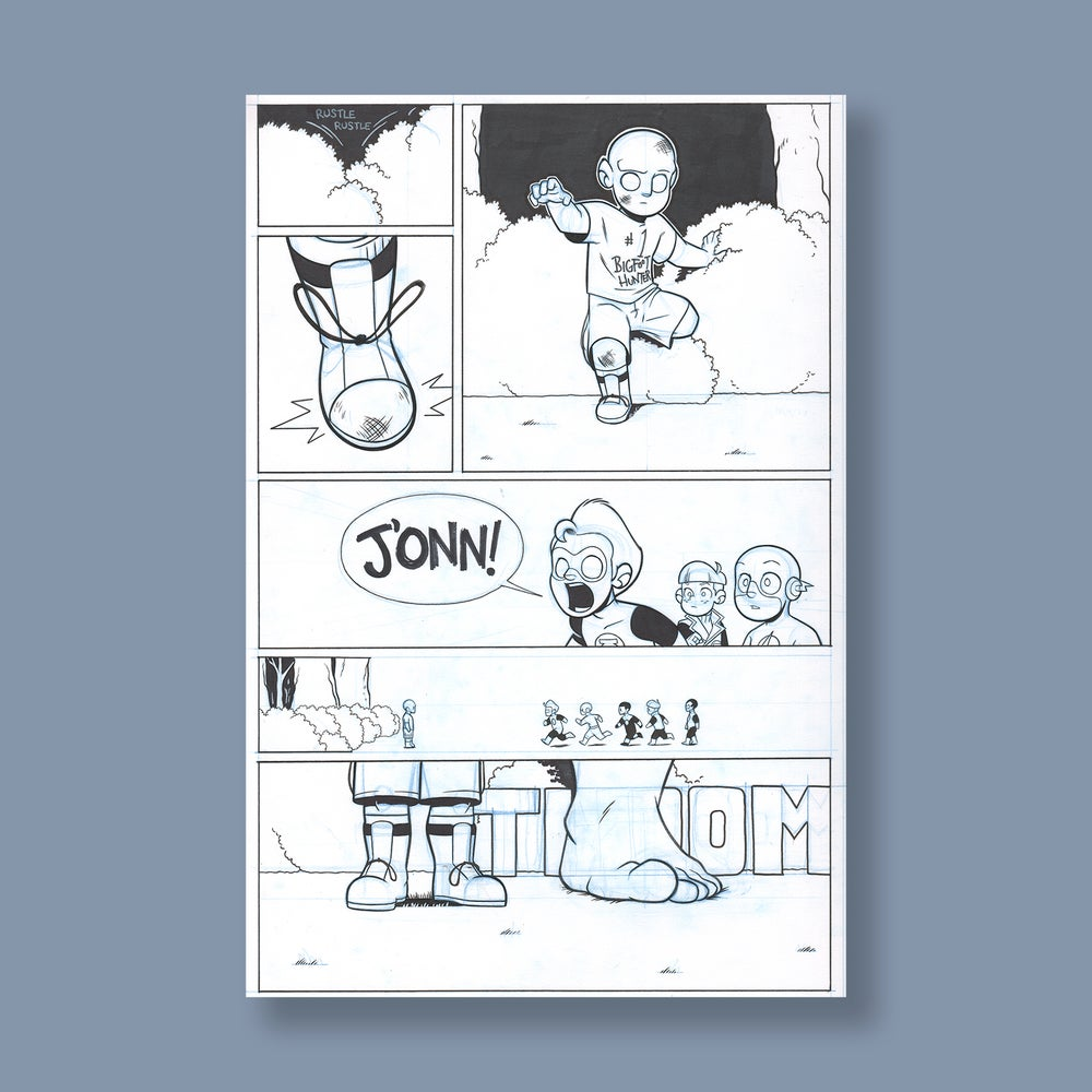 Image of *NEW* JL8 #194, p. 6 original art
