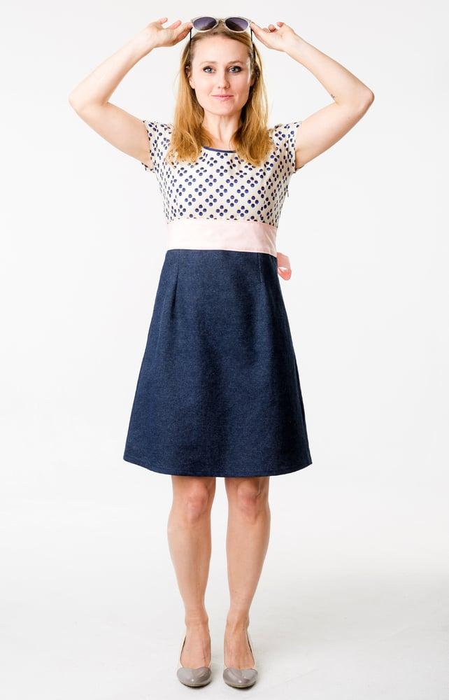 Image of FARMHOUSE DRESS: Picnic Dot