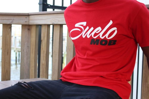Image of Red SueloMob Tee